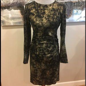 Atelier Nicole Miller metallic dress 8